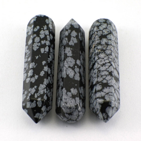 Snowflake Obsidian Wand