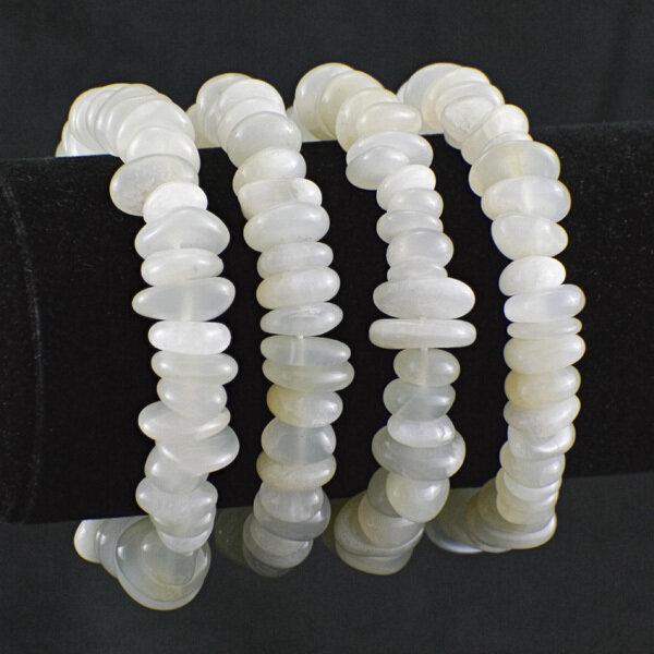 White Moonstone Bracelet