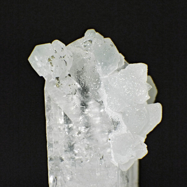 Calcite Cluster on Danburite with Gemstone Courier