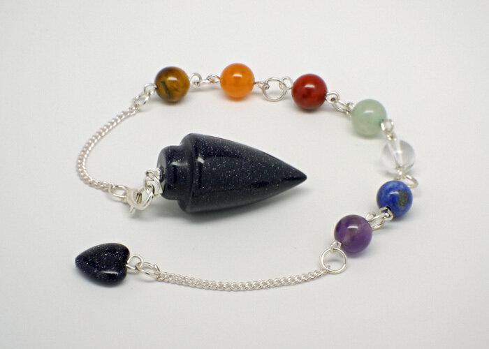 Blue Goldstone Pendulum