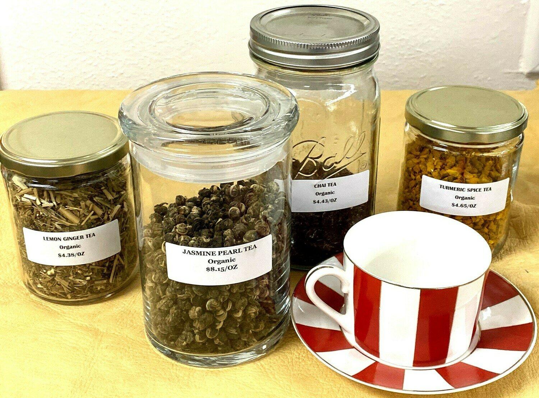 Jasmine Pearl Green Tea - 1oz Package