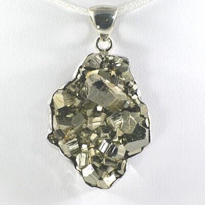 Pyrite Cluster Pendant