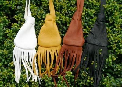 Native American Medicine Bag - with Fringe