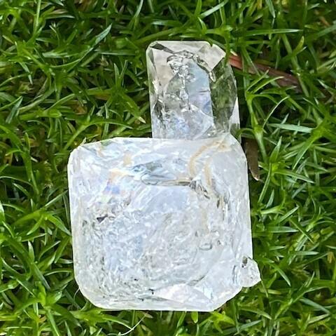 Elestial Crystal - Double Terminated - Rutilated