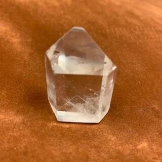 Clear Quartz Phantom Channeling Crystal