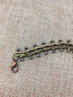 """Men's 81/2"""" Vintage Chain Bracelet"""
