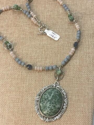 Jade Pendant Necklace