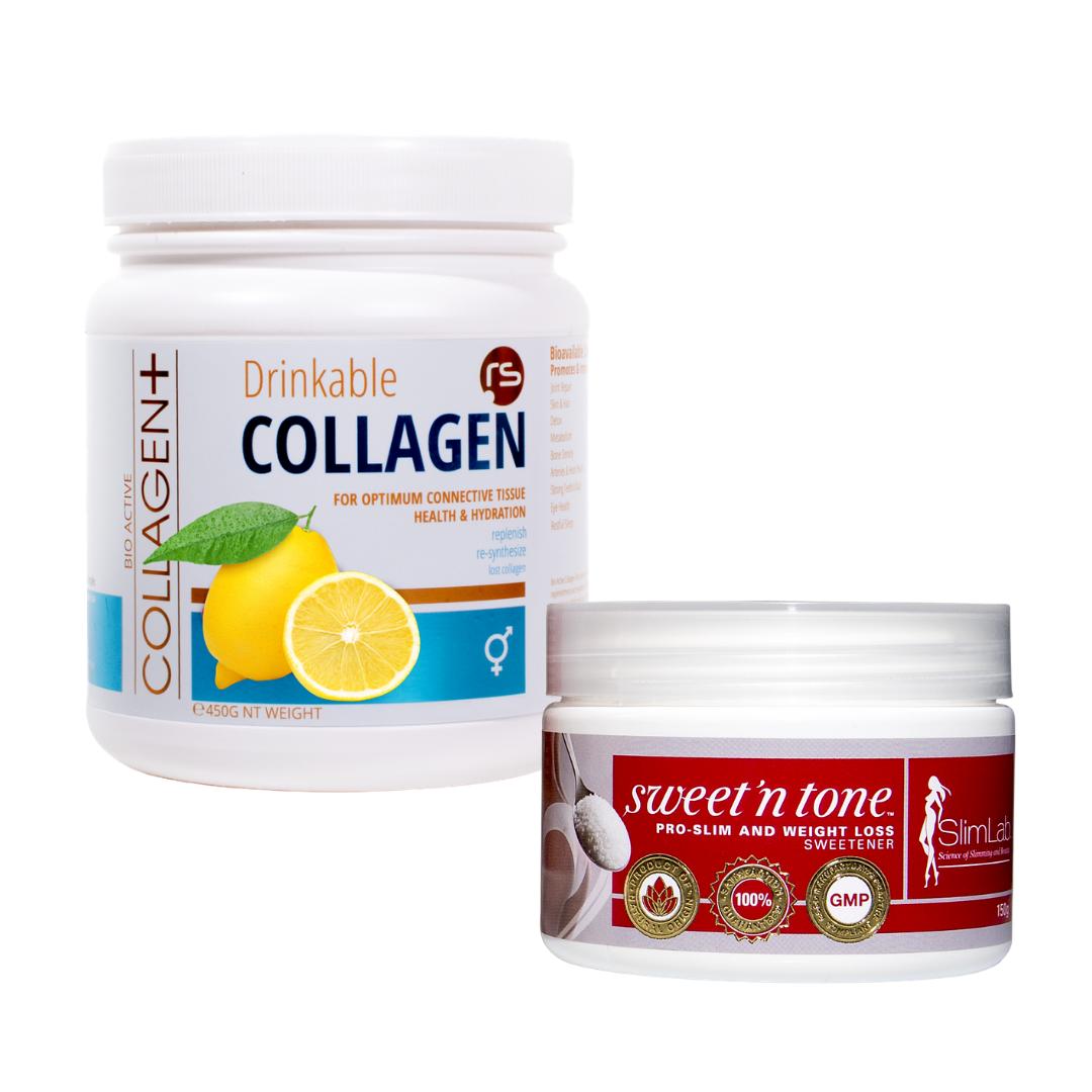 Bio Active Collagen Plus Lemon Toning Combo