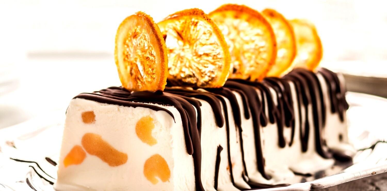 "Eistorte ""Monsieur Orange"""