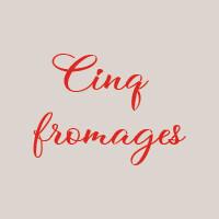 Cinq fromages (33cm) : Mozzarella, taleggio, gorgonzola, chèvre, parmeggiano