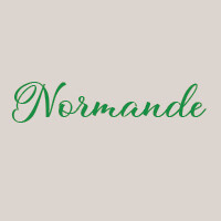 Normande (33cm) : Mozzarella, andouillette, camembert, pomme de terre, crème fraîche,  roquette