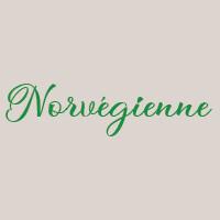Norvégienne (33cm) : Base crème ciboulette, mozzarella, saumon fumé, crème fraîche, basilic
