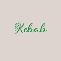 Kebab (33cm) : Mozzarella, viande kebab, oignon, crème fraîche, ciboulette, roquette