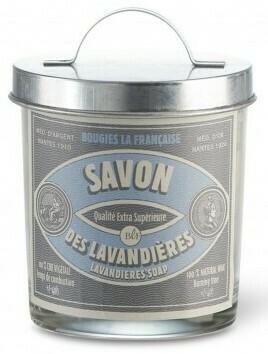 Bougie vintage / Lavandière