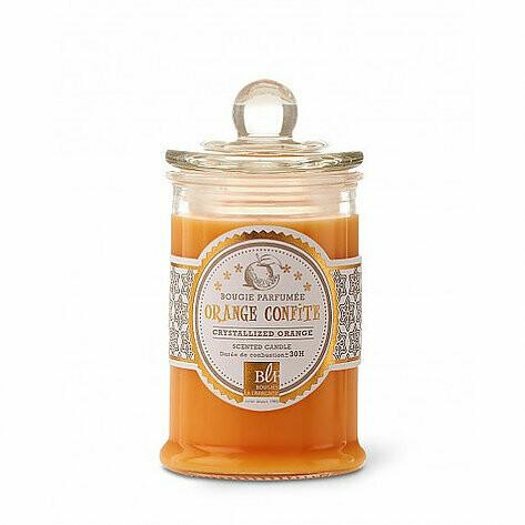 Bougie Bonbonnière / Orange confite