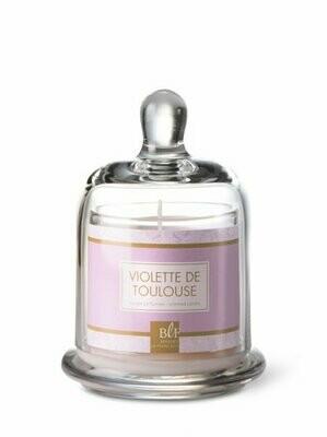 Bougie sous cloche / Violette de Toulouse
