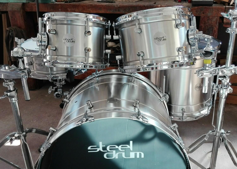 Steeldrum drumset Acciaio
