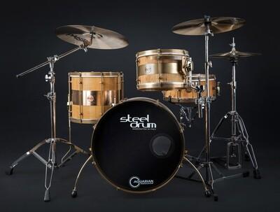 Steeldrum drumset