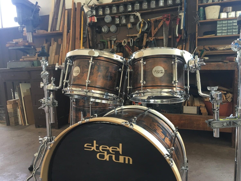 SteelDrum set Rame 22-10-12-14-16