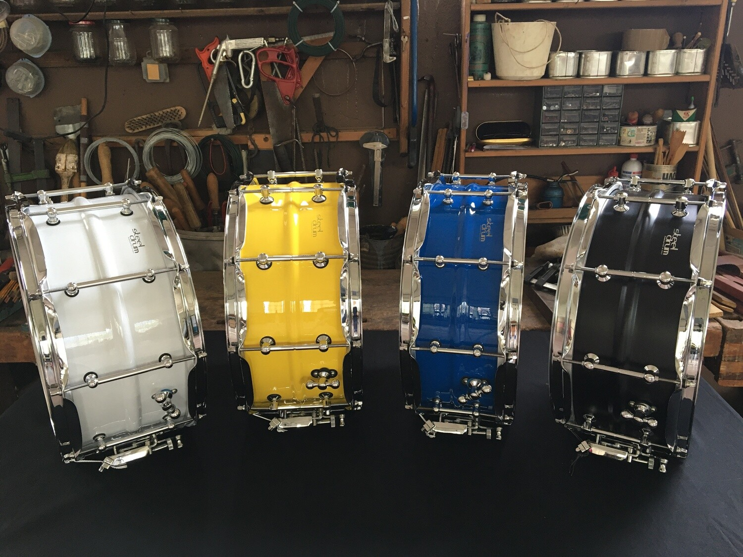 "Steeldrum ""Colors"" 14x5,5 o 14x6,5"