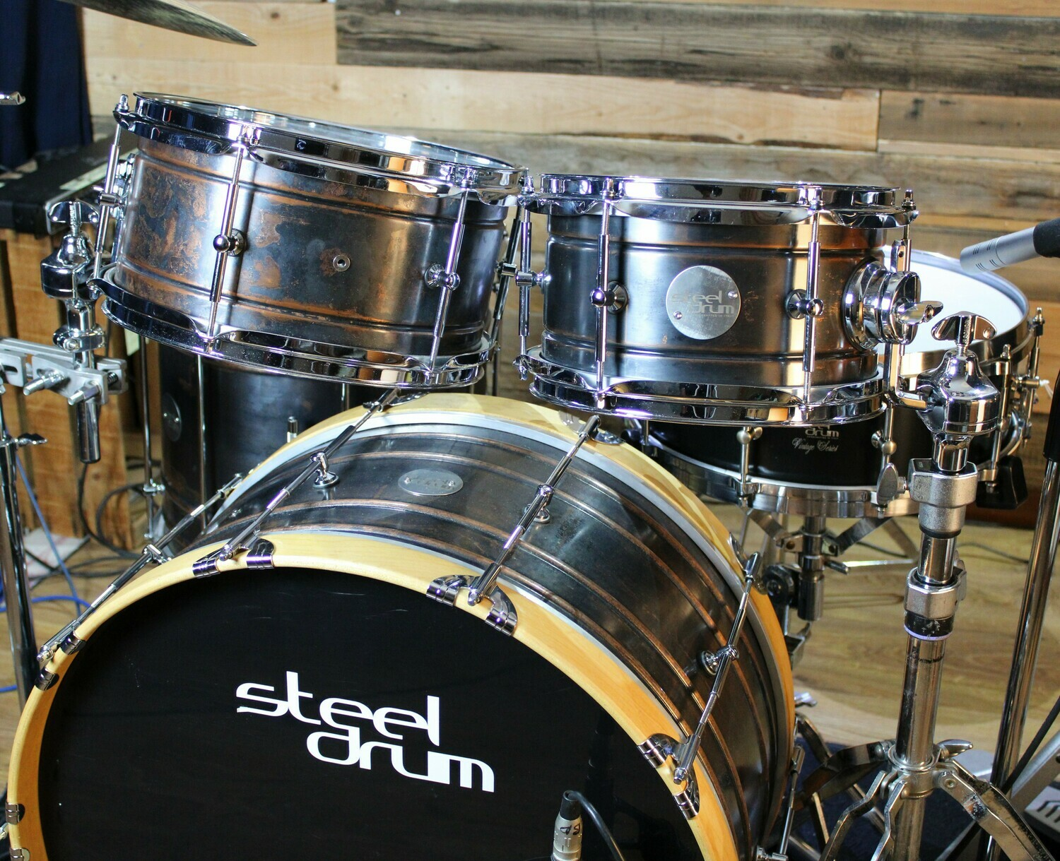 Steeldrum Travel kit Rame