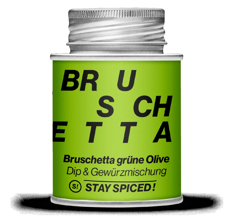 Bruschetta grüne Olive