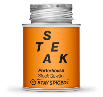 Porterhouse Steak Gewürzzubereitung