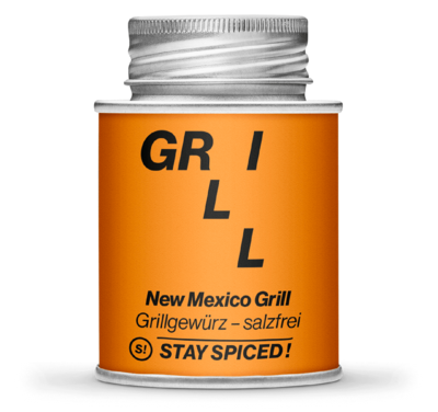 Barbecue-for-Champions - New Mexico BBQ Grillgewürz - salzfrei
