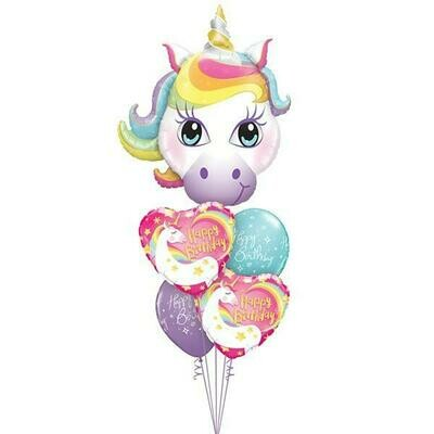SuperShape Balloon Bouquet Deluxe - Suitable Any Occasion - Shapes & Colours Customisable