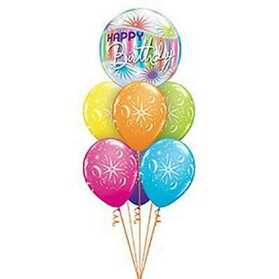 Melbourne Cup Foil  Balloon Bouquet