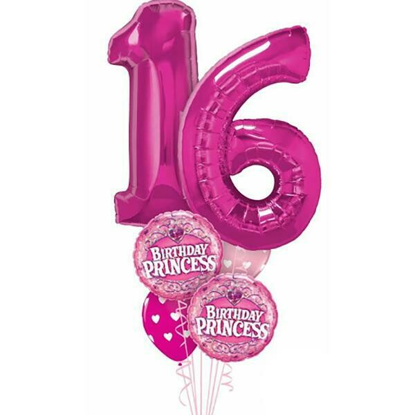 Age Spectacular/double numbers Balloon Bouquet