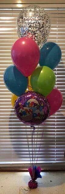 Confetti Balloon Bouquet