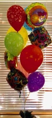 Mixed Dozen Balloon Bouquet