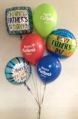 Surprise Dad Balloon Bouquet