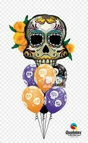 Halloween Shape and Printed latex Bouquet