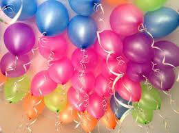 Neon Ceiling Balloons x 30