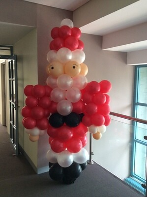 6 foot Santa