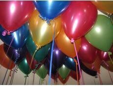Assorted Colour Ceiling Balloons x 30