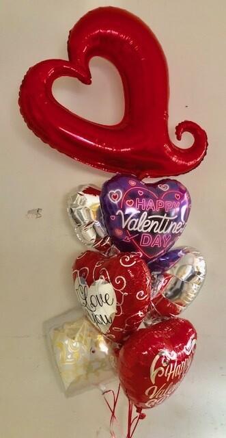 Funky  Heart  Bouquet