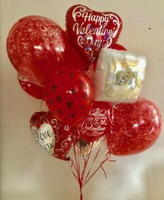 Valentines Mega Balloon Bouquet