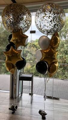 Jumbo Confette Fathers Day Balloon Bouquet