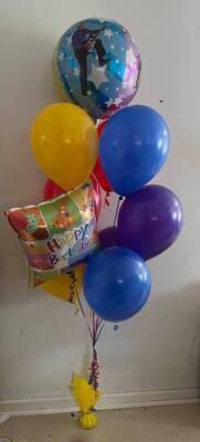 Wiggles Message Balloon Bouquet