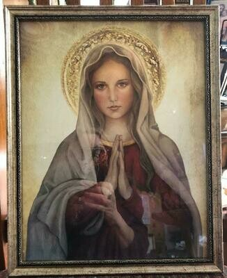 Mary Mother of God Framed Picture