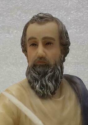 """St. Matthew 8"""" Statue by Goldscheider"""