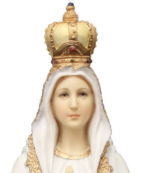 """Our Lady of Fatima 10"""" Statue"""