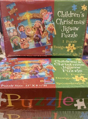 Children's Christmas Jigsaw Puzzle