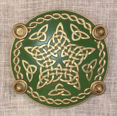 Celtic Advent Wreath Stand