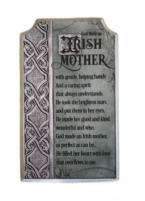 Irish Mother Wall Plaque