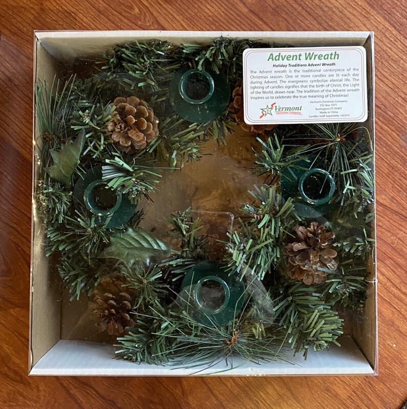 Green Advent Wreath