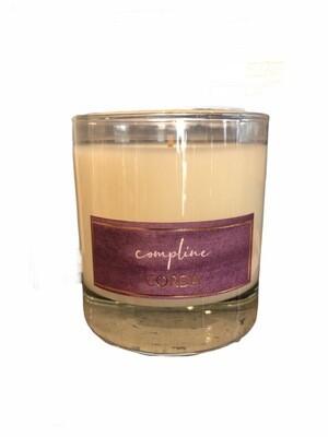 Compline/Night Prayer Candle